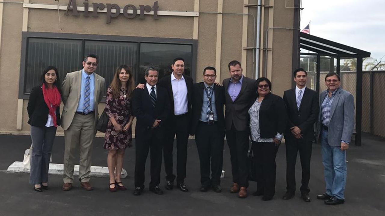 Visita del Presidente Municipal de Puerto Peñasco a Oxnard