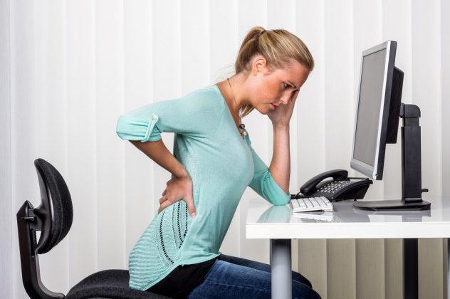 Consecuencias físicas de permanecer sentado mucho tiempo